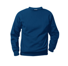Crew Neck Sweatshirt with Logo (1040)