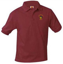 Preschool Polo Short Sleeve Jersey Knit with Logo (1009)
