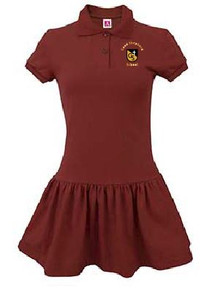 Polo Dress Short Sleeve with Logo (1009)