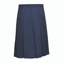 10-Pleat Skirt Navy