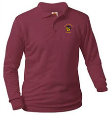 Polo Long Sleeve Jersey Knit with Logo (1009)