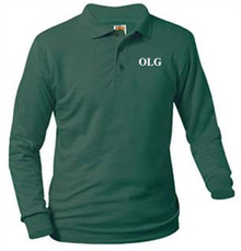 Polo Long Sleeve Jersey Knit with Logo (1015)