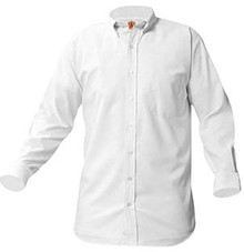 Long Sleeve Oxford Shirt (1006)