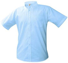 Short Sleeve Oxford Shirt (1024)