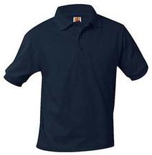 Polo Short Sleeve Jersey Knit, Grades 9-12 (1019)
