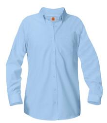 Female Long Sleeve Oxford Shirt (1019)