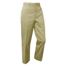 Boys Flat Front Pants Regular and Slim Fit, Grades 9-12 (1019)