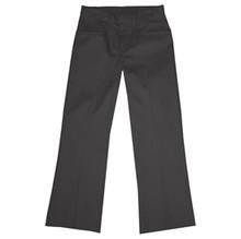Girls Flat Front Pants, Half (Plus) Size (1027)