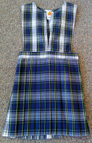 Jumper Plaid 80 Knife Pleat (1013)