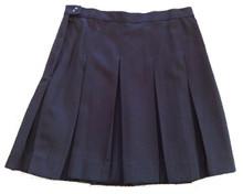 10-Pleat Skirt Navy (1019)
