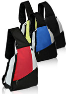 Three Tone Side Sling Backpack