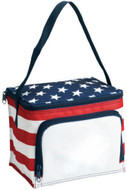 Stars & Stripes 6-Can Cooler/Lunch Bag