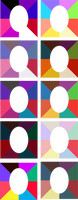 Virtual Colour Analysis Frames