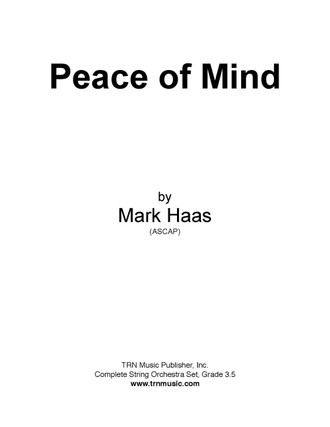 peace of mind cover