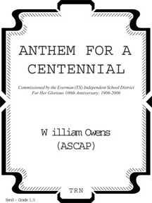 Anthem For A Centennial