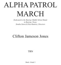 Alpha Patrol March