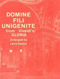 Domine Fili Unigenite from Vivaldi's Gloria