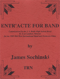Entr' Acte for Band