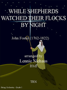 While Shepards Watched Their Flock by Night