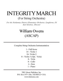 Integrity March for String Orchestra