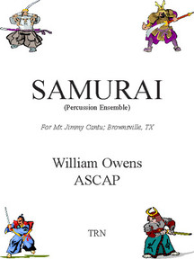 Samurai! (Percussion Ensemble)