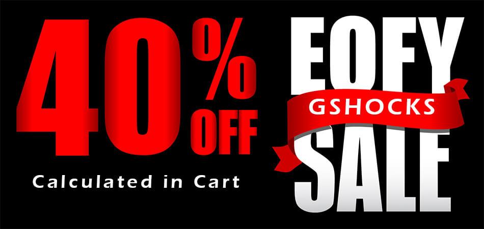 GShock Sale 40% Off