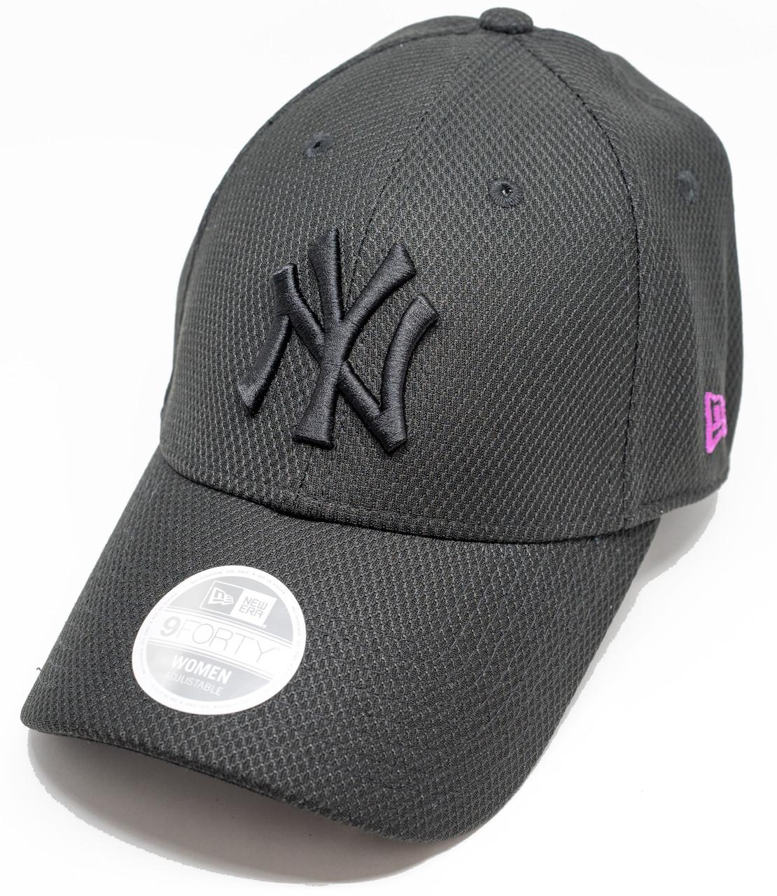 36535a5c9713a New Era 9Forty Neon Pop New York Yankees Cap Black Pink
