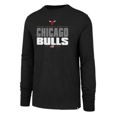 '47 Chicago Bulls Stacker Long Sleeve Tshirt