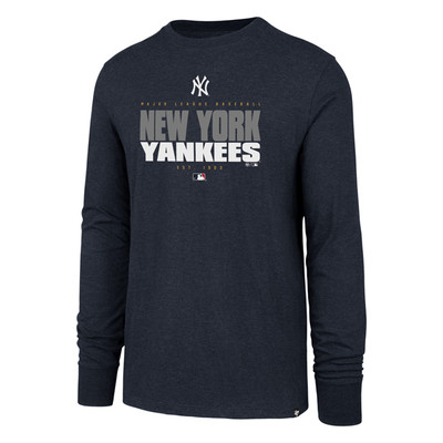 '47 New York Yankees Stacker Long Sleeve Tshirt