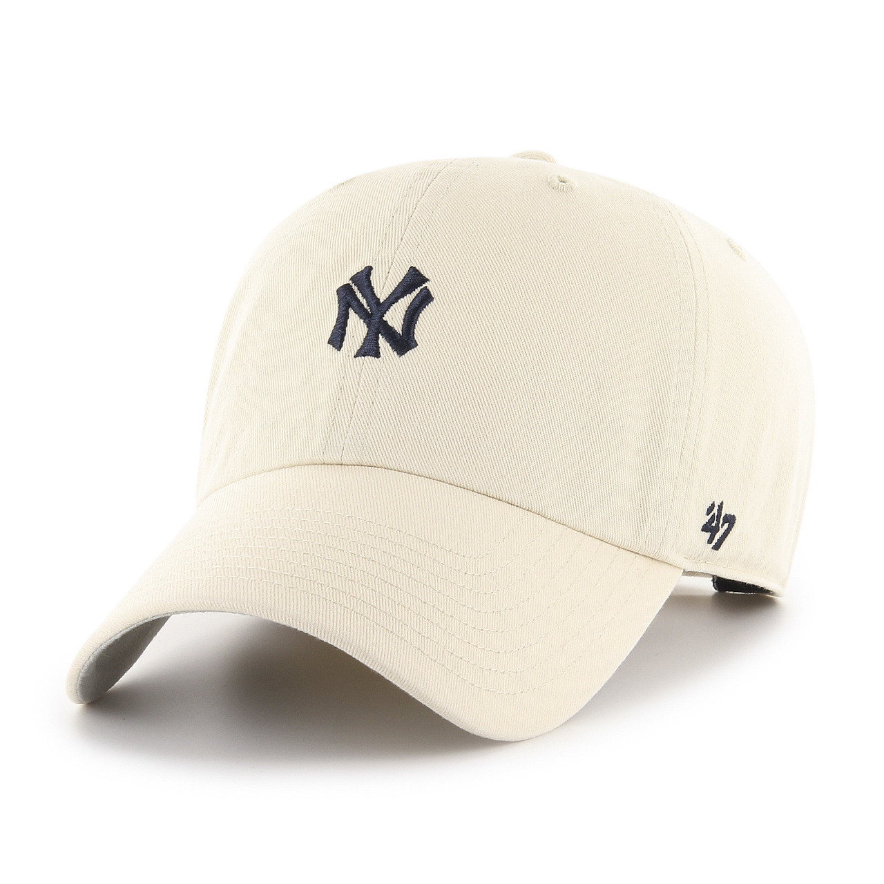c5f4a1b4fc6 Details about  47 New York Yankees Clean Up Base Runner Cap Natural.