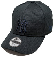 New Era 9Forty New York Yankees Mesh Youth Cap Black