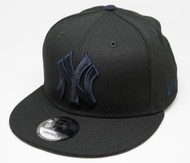 New Era 9Fifty New York Yankees Black Cap Front