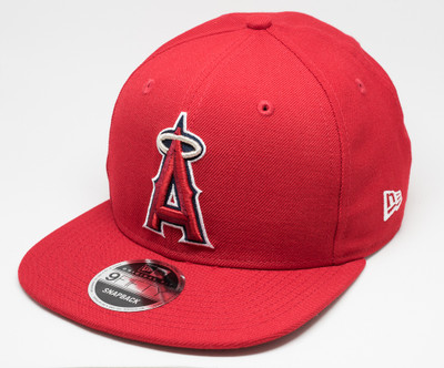New Era 9Fifty Anaheim Angels Dream Fit Cap Red