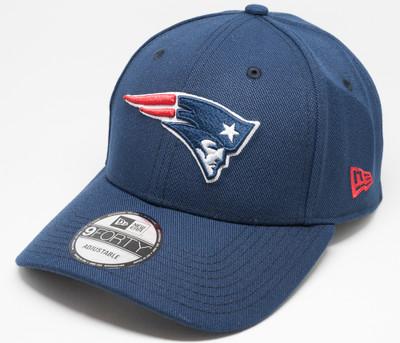 New Era 9Forty New England Patriots Pop Cap Navy