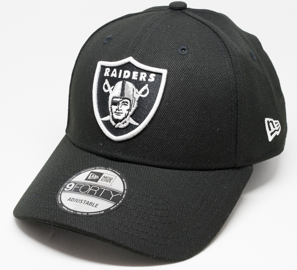 301f53b47d4 New Era 9Forty Oakland Raiders Pop Cap Black