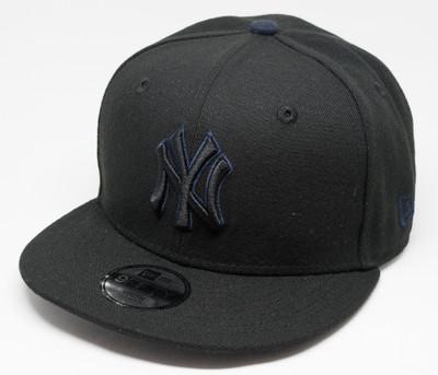 New Era 9Fifty New York Yankees Black Cap Kids