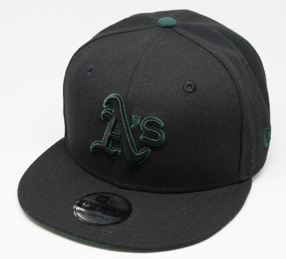 New Era 9Fifty Oakland Athletics Black Cap Kids  51b4fef8e43