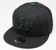 New Era 9Fifty Oakland Athletics Black Cap Kids