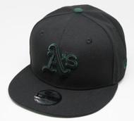New Era 9Fifty Oakland Athletics Black Cap Kids