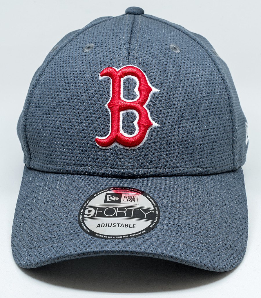 3c6ec07e957 Details about New Era 9Forty Boston Red Sox Grey Cap