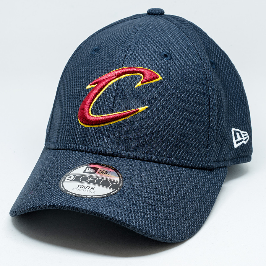 5e8662ec276 New Era 9forty Cleveland Cavaliers Youth Navy Cap
