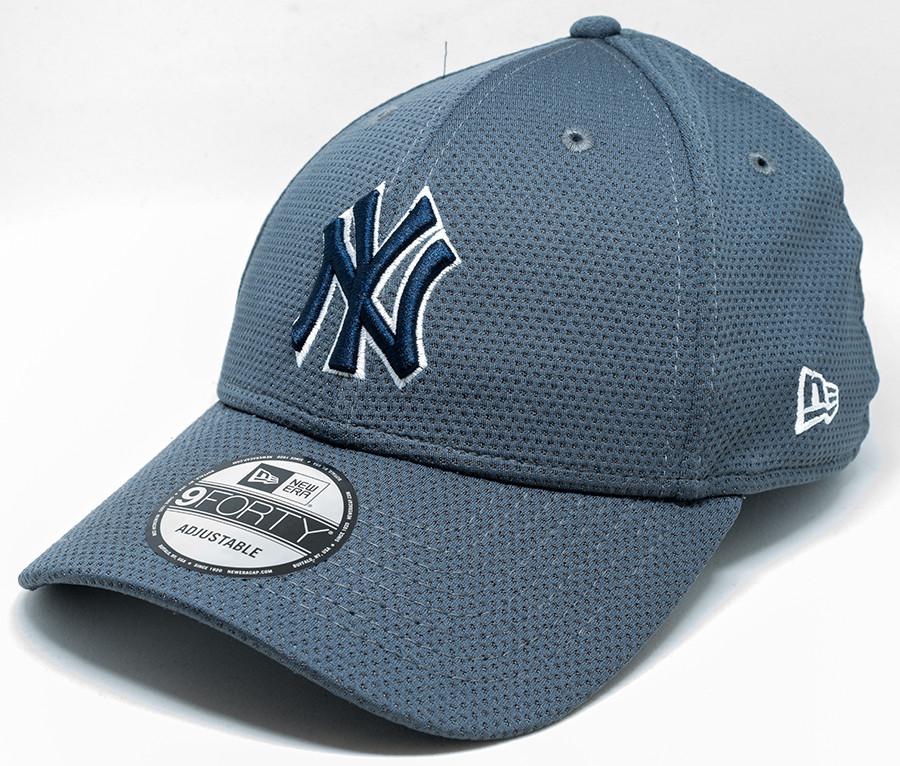 New Era 9Forty New York Yankees Cap Grey  dc6c78ddb53a