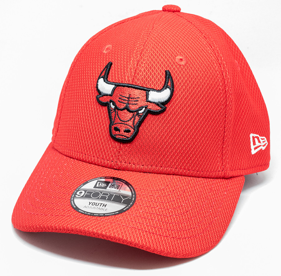 best service 48783 34e25 New Era 9Forty Chicago Bulls Cap Red Youth   Fancaps