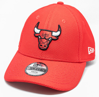 New Era 9Forty Chicago Bulls Cap Red Youth