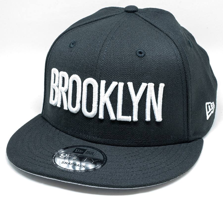 factory price 0c2a1 9e477 New Era 9Fifty Brooklyn Nets Cap   Fancaps