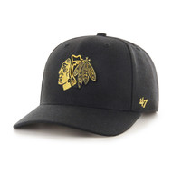 '47 Chicago Blackhawks Zone Metallic MVP Cap