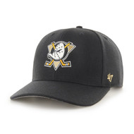 '47 Anaheim Ducks Black Audible MVP Cap
