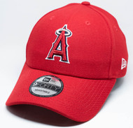 New Era 9Forty Los Angeles Anaheim Angels Snapback Red Cap