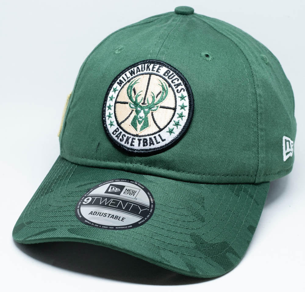 cheap for discount dbbd0 94062 New Era 9Twenty Milwaukee Bucks Tip Off Cap   Fancaps