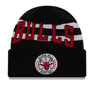 New Era Chicago Bulls Tip Off Beanie Knit